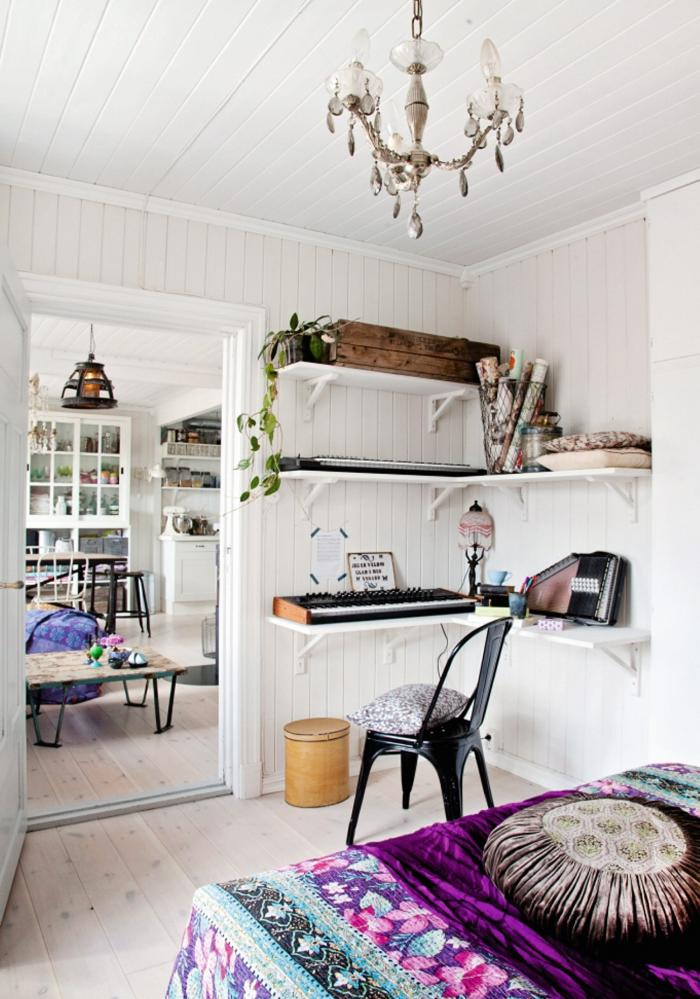 Boho chic una casa en la que inspirarte for Decoracion hippie chic