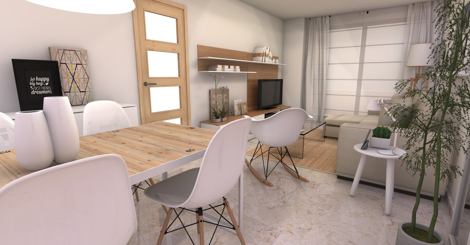 Decorar Salon Comedor Rectangular. Decoracion Salon Moderno With ...