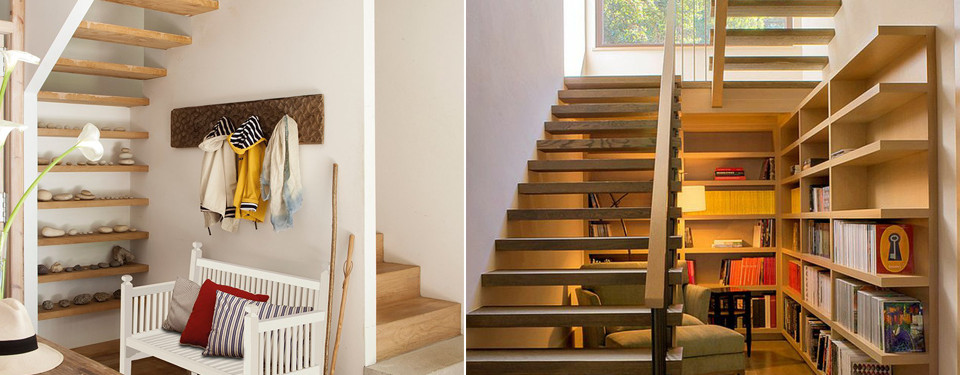 Decorar escaleras interiores cheap escaleras de madera para interiores with decorar escaleras - Escalera de interior ...