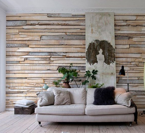 Revestir pared con madera bohochicstylebohochicstyle - Materiales para forrar paredes interiores ...
