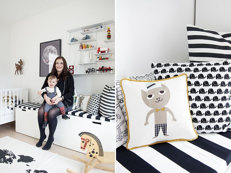 Habitaci n infantil n rdica bohochicstylebohochicstyle for Baules infantiles ikea