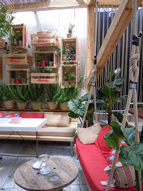 Manzana interior Ideas Patio